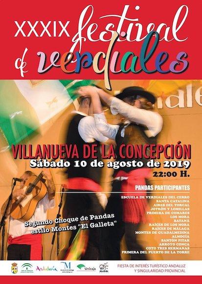 Festival de Verdiales Villanueva de la Concepción 2019