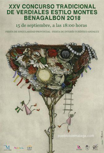 cartel de 2018, obra del artista Francisco Aguilar