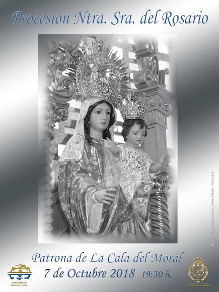 Procesión en honor a la Virgen del Rosario