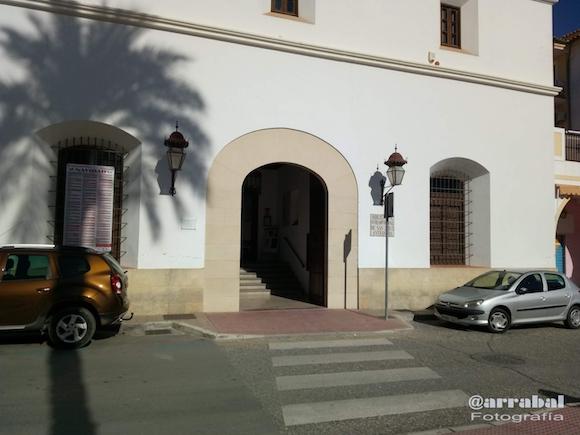 Entrada del Monasterio de San Zoilo, actual Biblioteca de Antequera