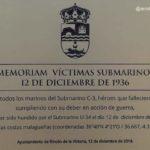 IN MEMORIAM VÍCTIMAS SUBMARINO C-3