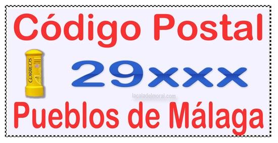 Códigos Postales de los Pueblos de Málaga