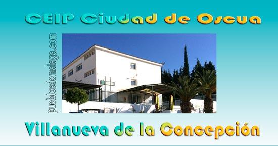 Centro deEducaciónInfantil yPrimaria, CEIP Ciudad de Oscua, de Villanueva de la Concepción