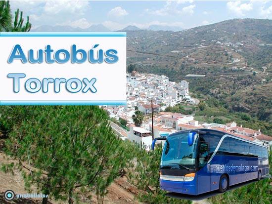 Autobuses Malaga Torrox y Torrox Malaga