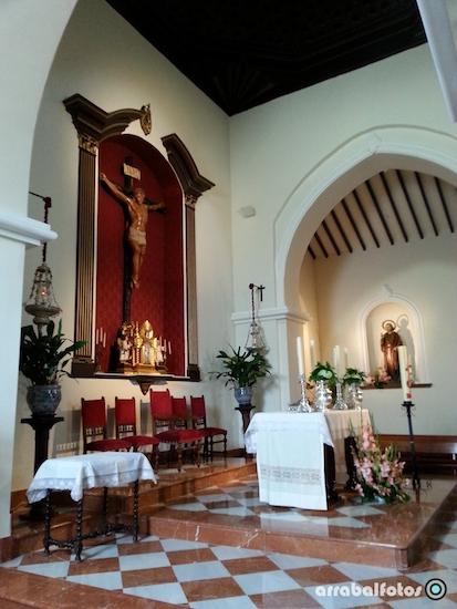 Altar de la Iglesia de Cártama