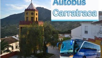 Autobuses Malaga Carratraca y Carratraca Malaga