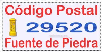 Código Postal de Fuente de Piedra